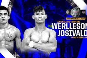 "SBC 23 – Revenge! Bantamweight Title Bout  Werlleson ""Zico/Galinho"" Martins Ribeiro vs Josivaldo ""Nuno"" Costa Araujo"