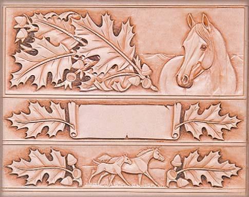 Craftaids - Leathercraft Pattern Template ~ Standing Bear\u0027s Trading Post