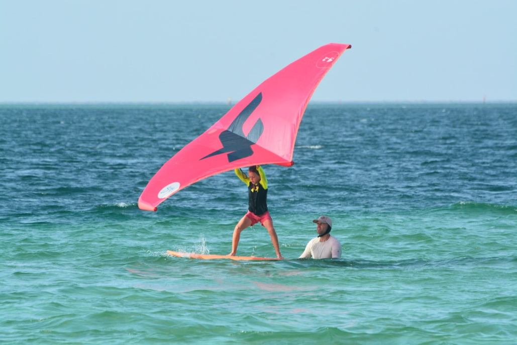 Wingfoil Lessons Learn With Us Wing Foiling Kitesurf Schools Guincho Caparica Alvor