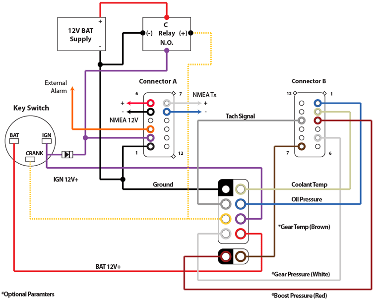 f70 yamaha trim gauge wiring auto electrical wiring diagram yamaha outboard digital gauges wiring diagram 45 wiring