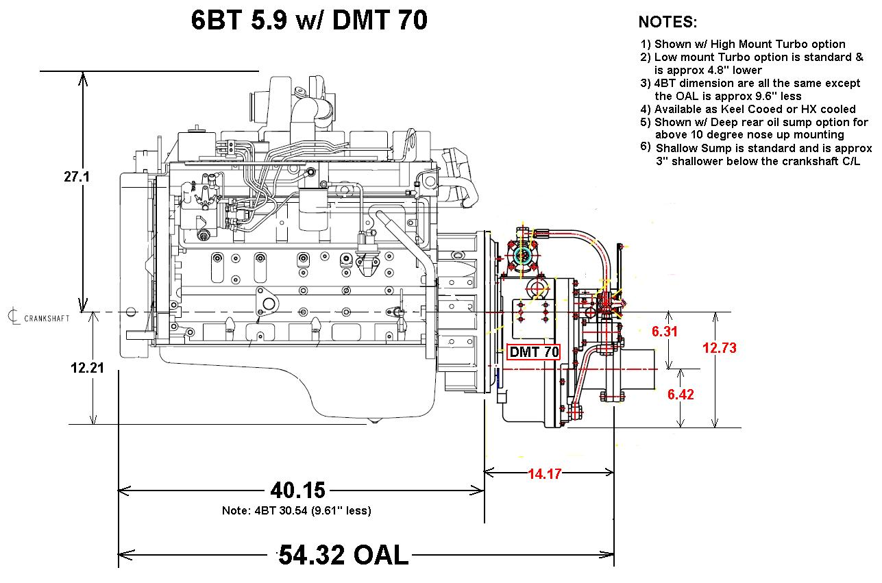 cummins 6bt alternator wiring diagram