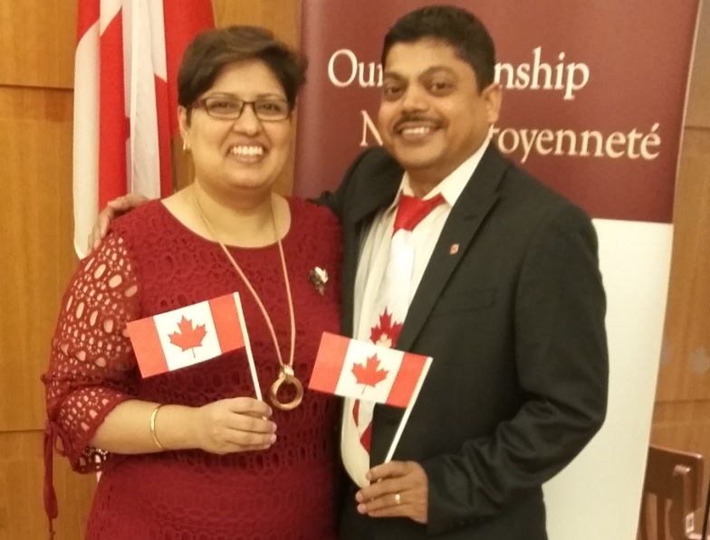 Alumni become Canadian