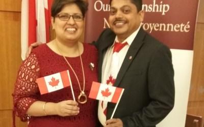 Alumni become Canadian