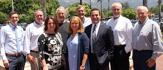 The Round Table presidents of the past and the president-elect joined outgoing leader Cara Gamberdella at her final press luncheon of her two-year term.