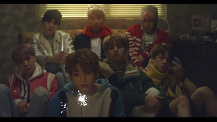 Sad Love Quotes Hd Wallpapers 1080p Bts Spring Day Mv Not Slowing Down Hits Another