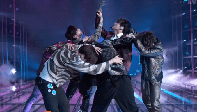Bts Wallpaper Iphone Bts Perform Quot Fake Love Quot At Bbmas And We Can Still Hear The