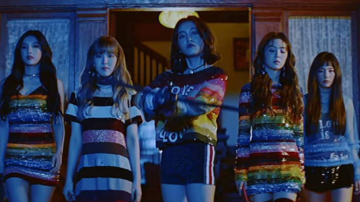 Top Ten Wallpapers Hd Red Velvet Rise On The Gaon Chart With Quot Peek A Boo Quot Sbs