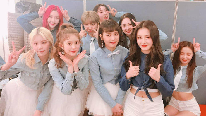 Cosmic Girls Wallpaper Momoland Are Getting Praise From America S Cbs News Sbs