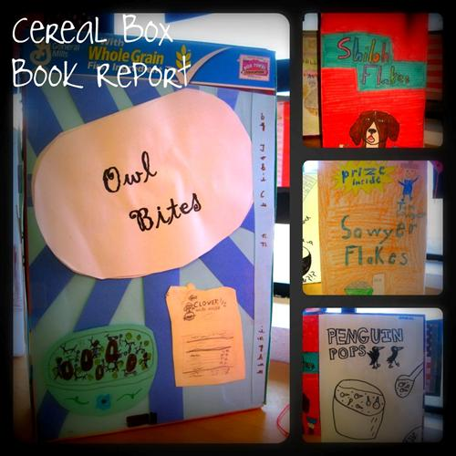 Harley, Isabelle / Cereal Box Book Reports