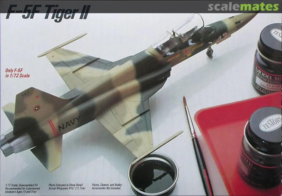 F 5f Tiger Ii Testors 689 1984