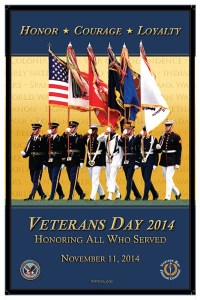 Veterans Day Official Poster 2014