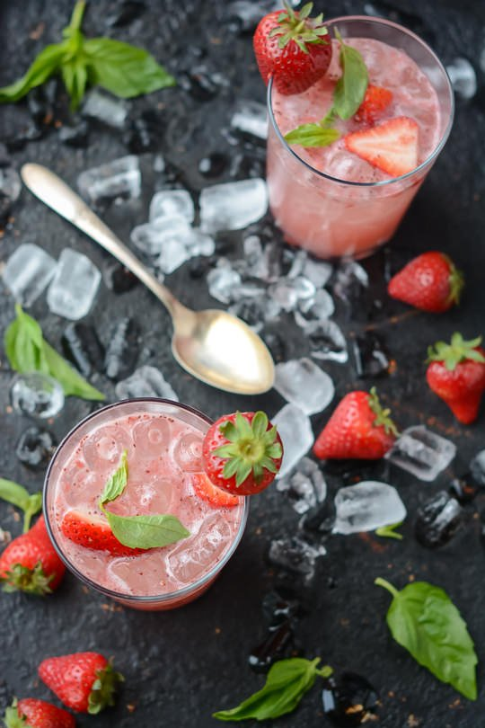basil sorbet strawberry basil ice cream strawberry basil soda ...