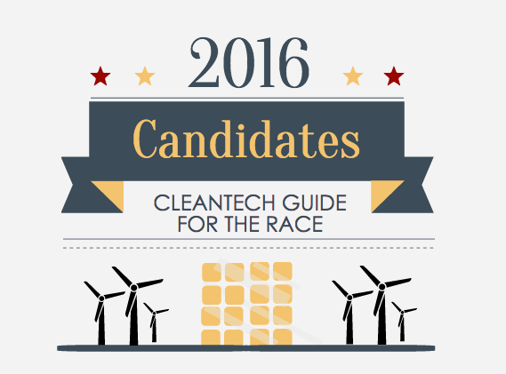 2016 president candidates clean tech header