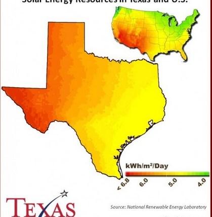 solarpowertexasmap