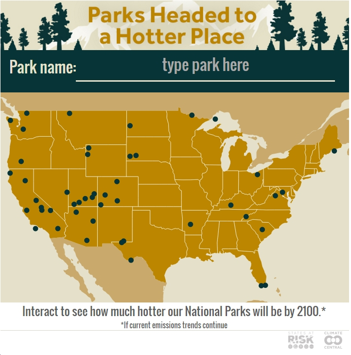 Climate Central: On 100th Anniversary of National Parks, Their Greatest Challenge is Fossil-Fueled Climate Change