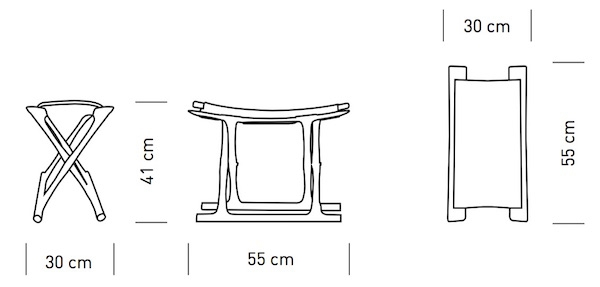 Carl Hansen Sn Ow2000 Egyptian Folding Chair Design