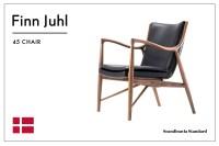 Six Classic Scandinavian Mid-Century Modern Chairs
