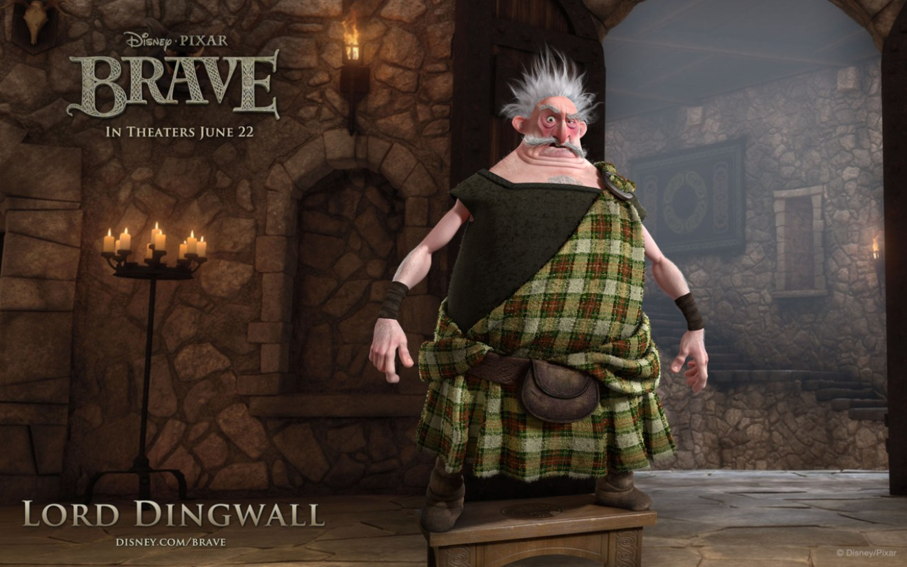 Brave - Wallpaper - Lord Dingwall