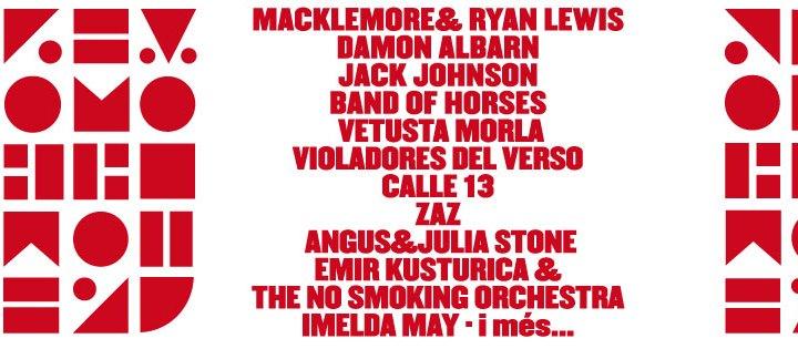 Nuevas confirmaciones del festival Cruïlla Barcelona!