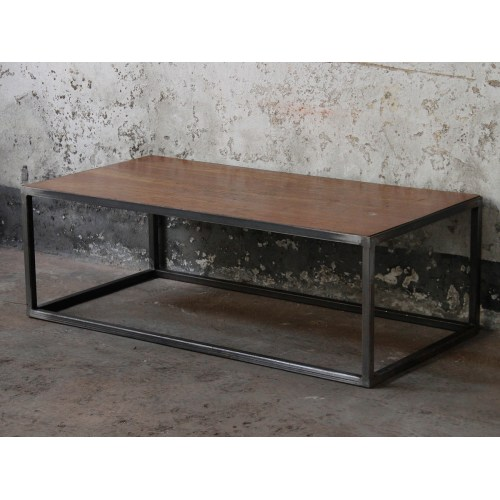 Medium Crop Of Industrial Coffee Table