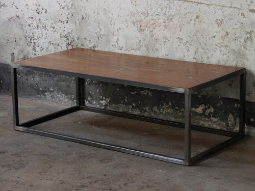 Medium Of Industrial Coffee Table