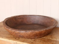 Old Rustic Wooden Plate - Sold - Scaramanga