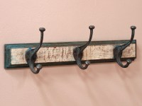 3-Hook Coat Rack - White - Sold - Scaramanga