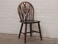 Ercol-Style Elm Dining Chairs (Set of 4) - Sold - Scaramanga