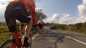 Riding with Rhyl CC, 10th June 2012.
