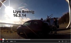 Video: First bike ride with my wife, around Llyn Brenig.