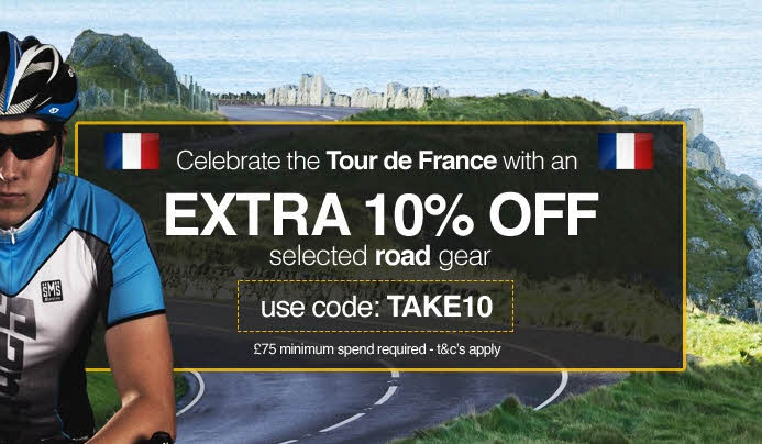 TdF coupon code at Chain Reaction (CRC)