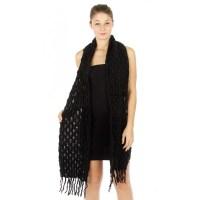 Oblong Knit Scarf - Scarves 'N Wraps