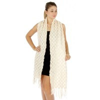 Oblong Knit Scarf - Scarves 'N Wraps