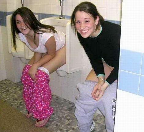 boys peeing their pants