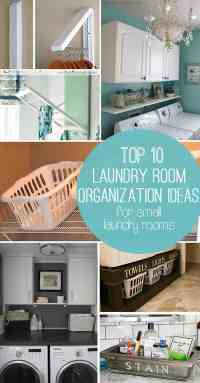 10 Storage Ideas for Small Laundry Rooms - Scattered ...
