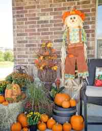 Easy Fall Porch Decorating Ideas - Scattered Thoughts of a ...