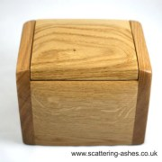 Memorial Jewellery Box Urn – with false bottom for token amount of ashes