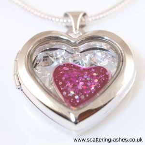 locket ashes jewellery