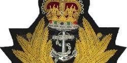 royal navy ashes service