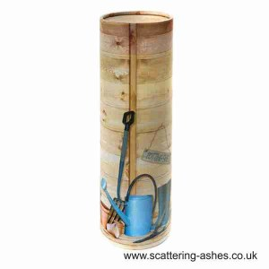 Gardener's Shed Scatter Tuubes - Cremation urn for scattering ashes