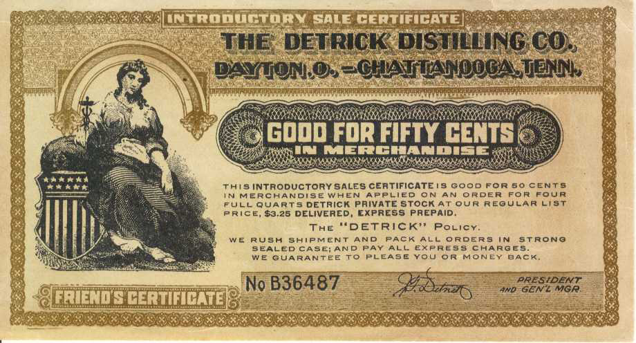 Discount - Coupon  Certificate