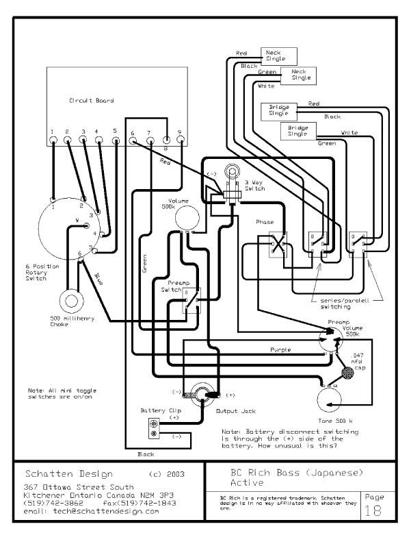 standard wiring diagram madbean