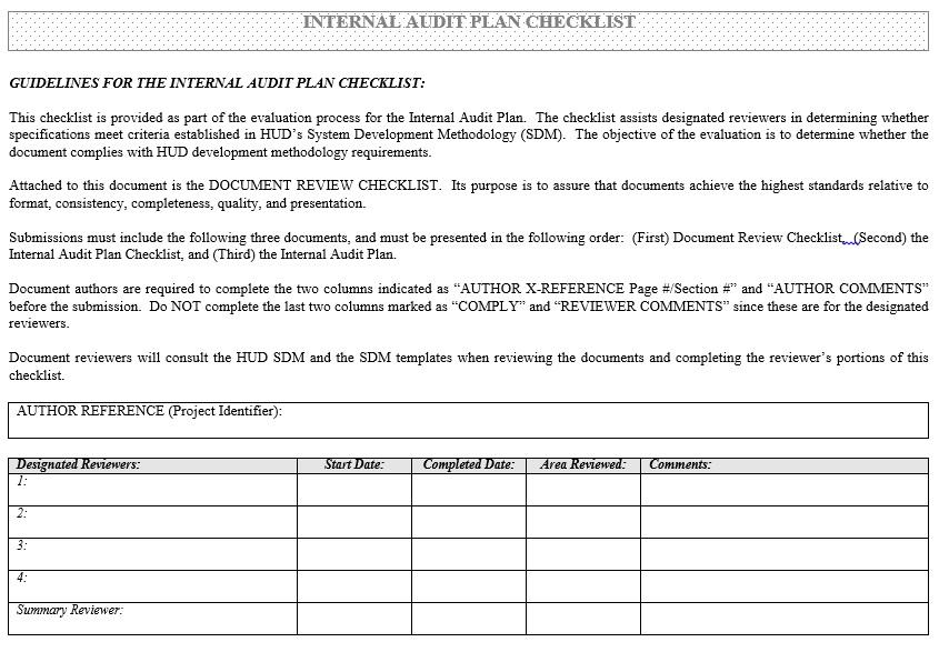Audit Schedule Template u2013 6 Free Templates Schedule Templates - audit plan template