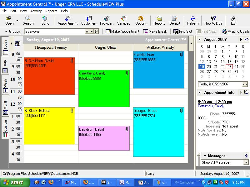 Medical Scheduling Software - Free Demo - Great Medical Appointment