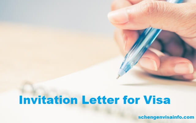 Invitation Letter for Schengen Visa \u2013 Letter of Invitation for Visa