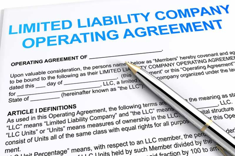 Sample Limited Liability Company Operating Agreement (TX-Single