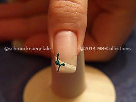 Fairy Fingernail Sticker And Nail Lacquer Nail Art Designs