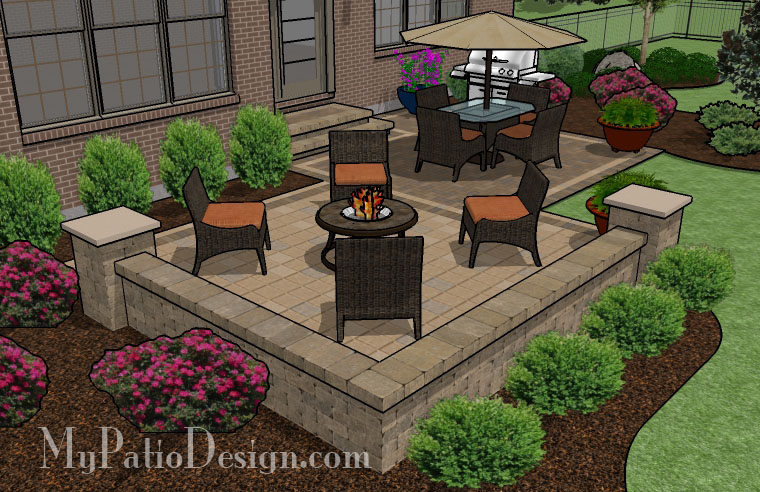 Pre Priced Patio Designs Dayton Schneider39s Landscaping