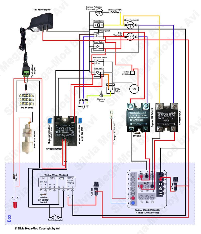 Pid Controller Wiring Diagrams Wiring Diagrams