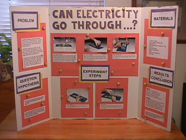 Science Fair Project Brick - science project research